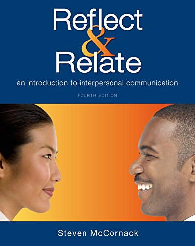 Reflect & Relate: An Introduction to Interpersonal Communication cover