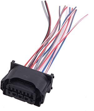 Amazon.com: CITALL 12 Pin Headlight Plug Wiring Harness Pigtail Connector  Fit for BMW F01 F02 E63 E64 E90 61132359991: Automotive | Bmw Headlight Wiring Harness |  | Amazon.com