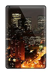 New Style Premium Protective Hard Case For Ipad Mini 3- Nice Design - Downtown Manhattan