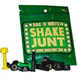 "Shake Junt Bag O Bolts Black Green Yellow 1""(allen) 1set Skateboarding Hardware"