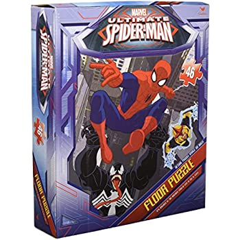 Amazon Com Spiderman Floor Puzzle 46 Count Styles Will