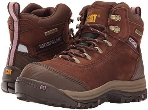 Caterpillar Women's Ally 6'' Waterproof Comp Toe Industrial and Construction Shoe, Brown, 10 W US by Caterpillar (Image #6)