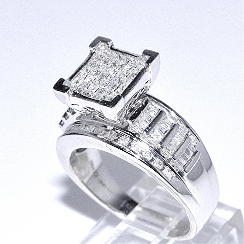 Com 1cttw Diamond Wedding Ring 3 In 1 Style Sterling Amazing Ideas