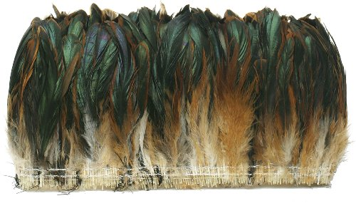 Natural Irridescent - Zucker Feather (TM) - Rooster Coque Tails-Half Bronze - Natural