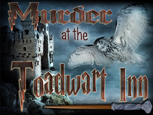 Witch & Wizard Murder Mystery Party Game - Murder at the Toadwart -