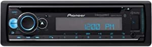 Pioneer DEH-S7200BHS Single-DIN in-Dash CD Receiver with Bluetooth, HD Radio, and SiriusXM Ready