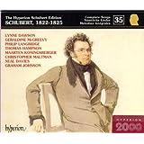 The Hyperion Schubert Edition 35 - Schubert, 1822-1825 / Dawson, McGreevy, Langridge, Hampson, Koningsberger, Maltman, Davies, G. Johnson