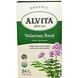 Valerian Root Tea Organic Alvita Tea 24 Bag, 2.12 oz by Alvita