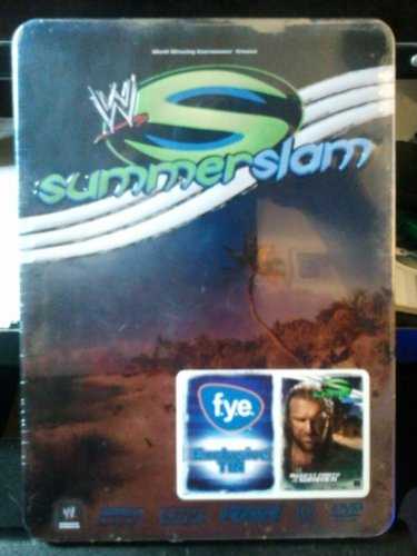 WWE Summerslam 2007 Exclusive Collector's Tin (Wwe Tin Dvd)
