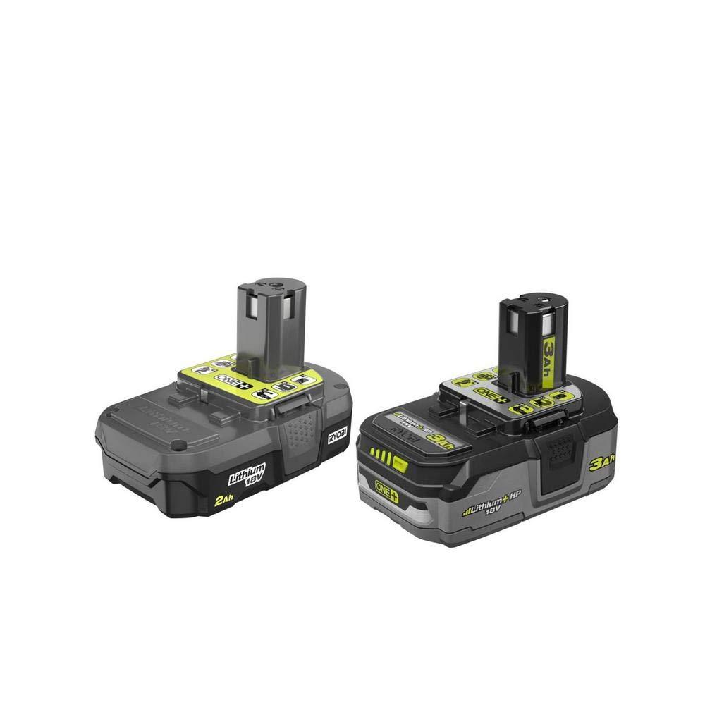 2 Baterias Originales RYOBI P19590 18v 2.0ah y 3.0ah