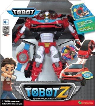Amazon Com Tobot Youngtoys Z Car Transforming Robot Car To Robot