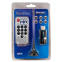 NooElec NESDR Nano-P, Black: Small USB RTL-SDR & ADS-B Receiver Set w/RTL2832U & R820T Tuner, PAL Input. Low-Cost Software Defined Radio Compatible with Many SDR Software Packages. ESD-Safe!