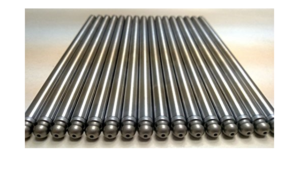 Elgin Industries Heat Treated 1010 Steel High Performance Pushrods /& Lifters Set compatible with 1999-2016 GM 4.8L 5.3L 6.0L LS3 Engines