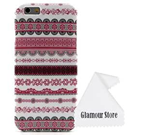 iPhone 6 Plus Case,Wave Pattern Gel Silicone Soft TPU Case Cover Skin For Apple iPhone 6 Plus 5.5 inch With A Free Cleaning Cloth As a Gift
