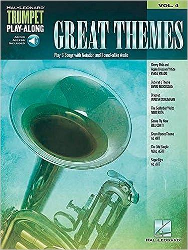 Hal Leonard Trumpet Play-Along Book//Online Audio Popular Hits Trumpet Play-Along Volume 2