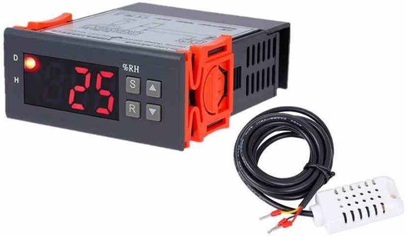 99/% RH Hygrostat Hygrostat Luftbefeuchtung Entfeuchtung-Tool Idyandyans MH13001 AC220V Digital Air Feuchteregler 1/% rF