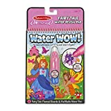 Melissa & Doug On the Go Water Wow! Color-Reveal Pad Activity Book - Fairy Tale, 4 Boards