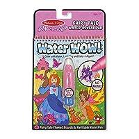 Melissa y Doug Libro para colorear y pintar con el agua, (Actividad de viaje Water Wow Fairy Tale On the Go)