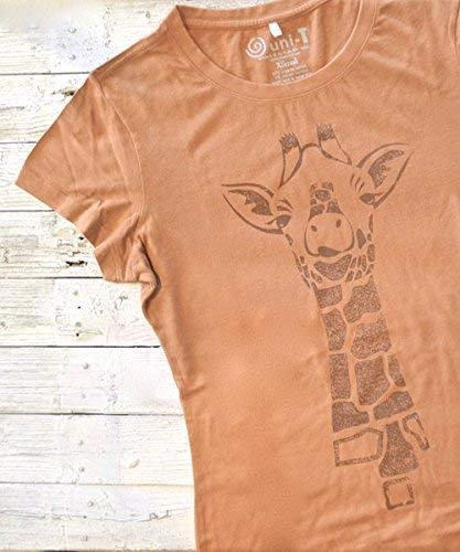f291af34 Amazon.com: GIRAFFE Shirt, Womens T-shirts, Bamboo Organic T shirt, Organic  Clothing, Eco Clothing, Womens Tee Shirt, Womens Tshirt: Handmade