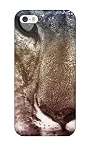 Hot Snow Leopard First Grade Tpu Phone Case For Iphone 5/5s Case Cover
