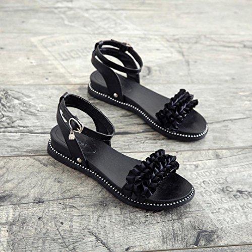 BYSTE para de Zapatillas Mujer Scarpe Negro Nordic Walking wqwfx4ZaTH