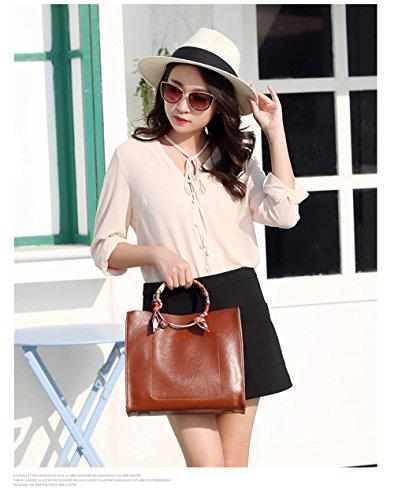 And SJMMBB Brown Bag Trendy SJMMBB Handbag Trendy xggqInR
