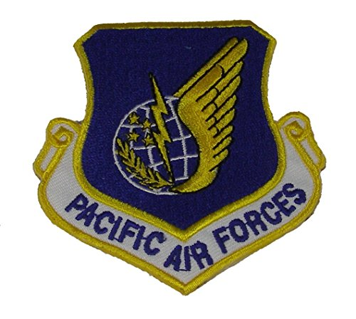 - PACIFIC AIR FORCES PATCH - COLOR - VETERAN OWNED BUSINESS