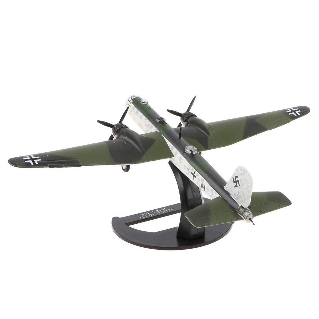 Diecast Warplane Aircraft Model Army Plane Toy Decor
