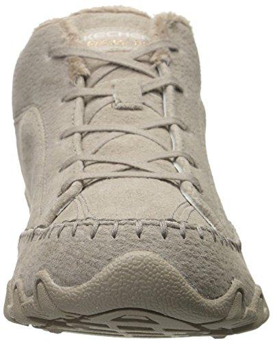 Skechers BikersTotem Pole - zapatilla deportiva de piel mujer gris - Grau (Tpe)