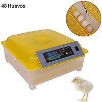 Incubadora Automática de 48 Huevos con Control