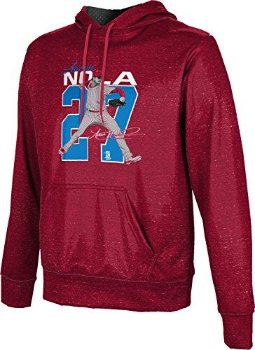 ProSphere Aaron Nola Philadelphia Men's Baseball Pullover Hoodie - Heather FD4A1