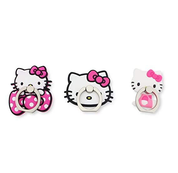 baaace2e8 Finex Set of 3 Hello Kitty 2-in-1 Mobile Cell Smart Phone Kickstand