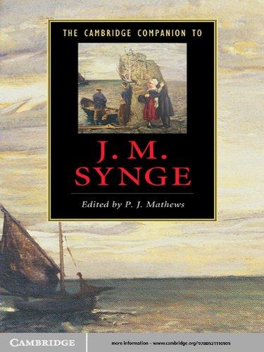The Cambridge Companion to J. M. Synge (Cambridge Companions to Literature)