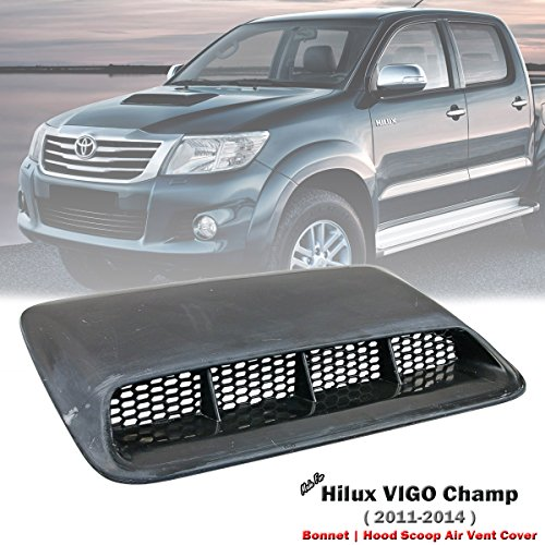 D&D (Drag & Drift) FRP Front Bonnet Scoop Air Flow Vent Cover For Toyota Hilux VIGO Champ ()