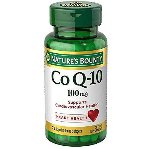 Nature's Bounty Co Q-10 100 mg Softgels 75 ea (Pack of 10) by Nature's Bounty