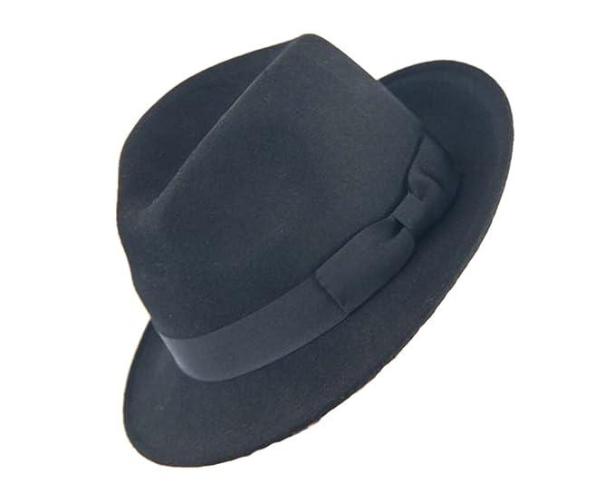 Amazon.com: Blues Brothers negro sombrero de Fedora de ...