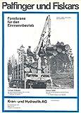 1971 Palfinger Fiskars Logging Truck Crane Brochure