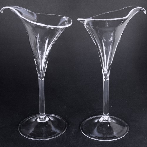 Calla Lily Toasting Glasses - 8