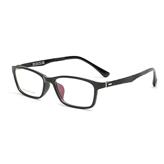 ec4f0d1220 Image Unavailable. Image not available for. Color  Simvey Unisex Vogue  Classic Rectangle TR90 Optical Glasses Frames 52mm
