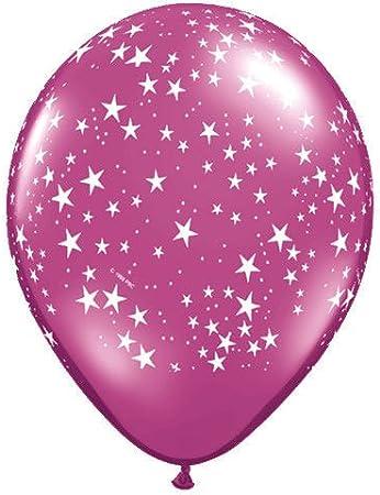 100ct Qualatex 9 Assorted Jewel Tone Latex Balloons