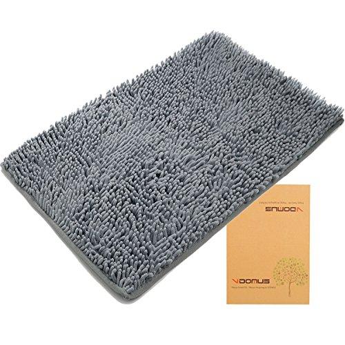 Best Seller in Bath Rugs [Updated]VDOMUS Non-slip Microfiber Bath Mat Bathroom Mats Shower Rugs, 20