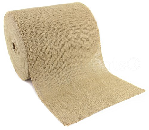 CleverDelights Natural Burlap Roll Eco Friendly product image