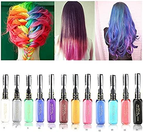 Tmalltide profesional temporal color de pelo no tóxico Herbal ...