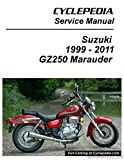 CPP-146-P Suzuki GZ250 Marauder Cyclepedia Printed Service Manual