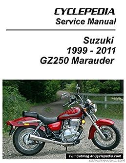 cpp 146 p suzuki gz250 marauder cyclepedia printed motorcyclecpp 146 p suzuki gz250 marauder cyclepedia printed motorcycle service manual manufacturer amazon com books