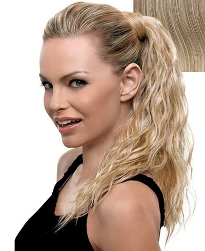 Hairdo Style-able Synthetic Ponytail, R14-88H Golden Wheat, 18-inch
