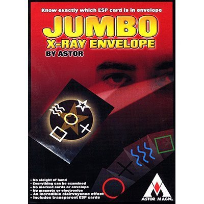 Jumbo X-Ray Envelope by Astor Magic - Trick: Toys & Games