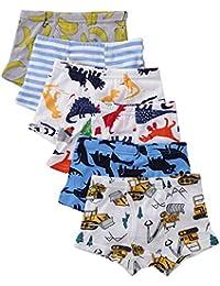 Boys' Soft Cotton Underwear 6 -Pack