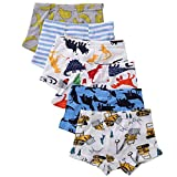 benetia Boys Underwear Baby Toddler Briefs Cotton 6 -Pack 2t 3t