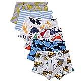 benetia Boys Boxer Briefs for Toddler Kids Underwear 6 -Pack 5t 6